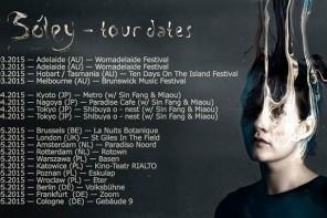 Sóley na czterech koncertach w Polsce
