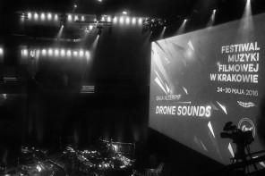 FESTIWAL MUZYKI FILMOWEJ W KRAKOWIE 2016 – JÓHANN JÓHANNSSON NA GALI ALTERFMF: DRONE SOUNDS
