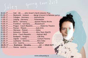 Sóley – Spring tour 2017 i trzy koncerty w Polsce