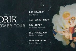 Heiðrik na Black Flower Tour w Polsce